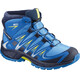 Salomon Junior XA Pro 3D Mid CSWP Shoes Indigo Bunting/Night Sky/Sulphur Spring